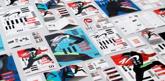 The huge collection of printed communication materials for the Helsinki Design Week.