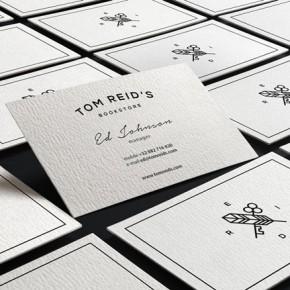 Tom Reid's Bookstore Branding by Sebastian Bednarek