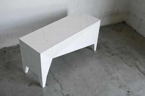 Experimental furniture design.