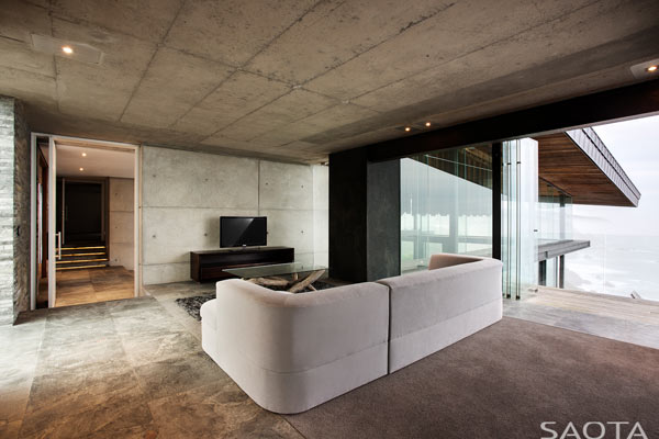 Minimalist and modern interior design.