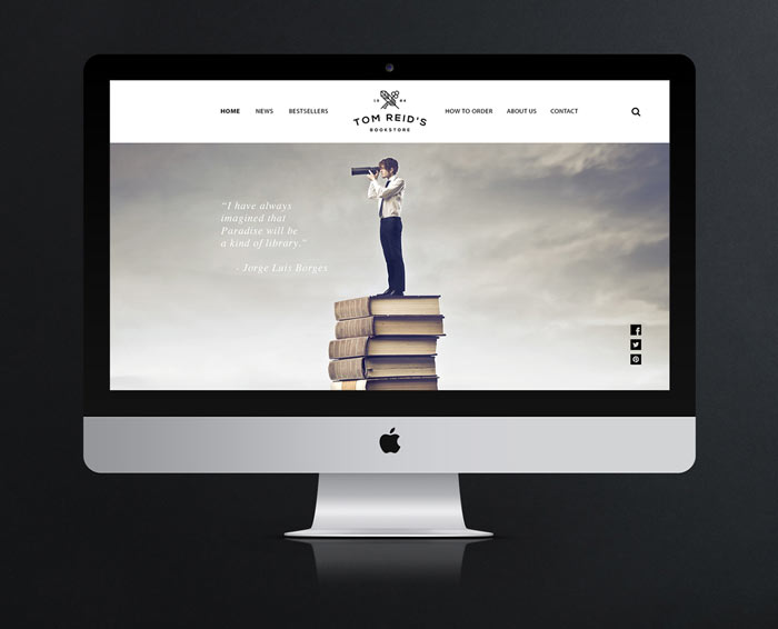 The new responsive store website.