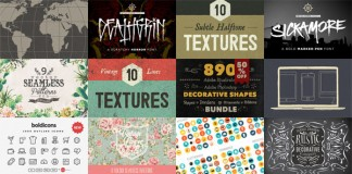 Big Bundle Vol. 3 from Creative Market.