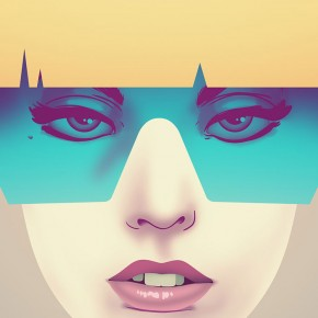 Lady Gaga Poster Illustration by Nook