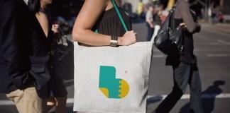 Symbol printed on a bag.