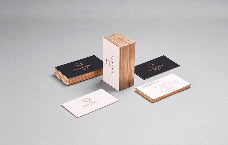 Danh Hien Jewelers - Business cards.