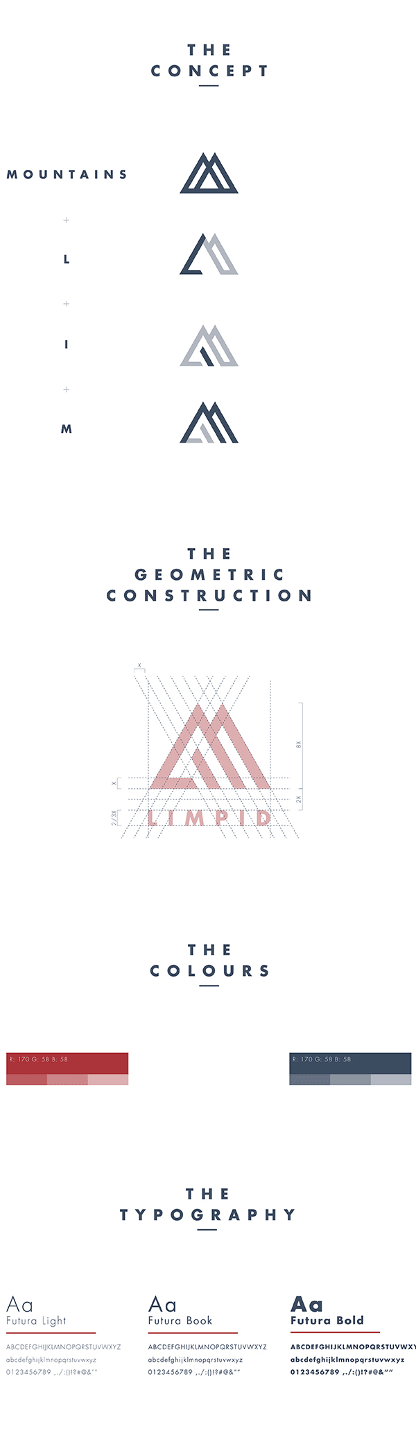 LIMPID Skis - Logo design and rebranding by Paolo Pettigiani.