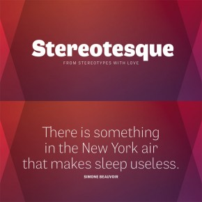 Stereotesque Font Family from Stereotypes