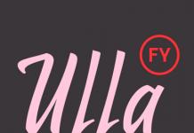 Ulla FY, a vintage brush script font from Fontyou.