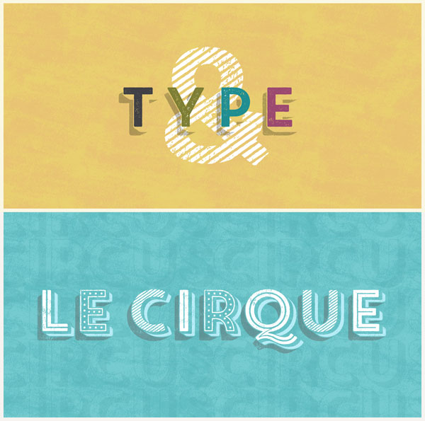 Core Circus Rough, a textured layered font family.