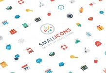 A big set of small icons.