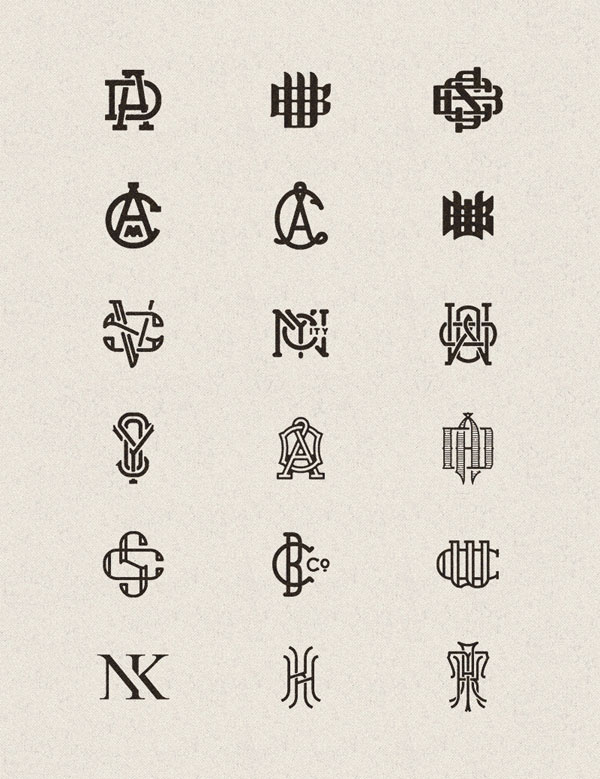 A collection of unique logo designs from 2013 and 2014 by Joe White.