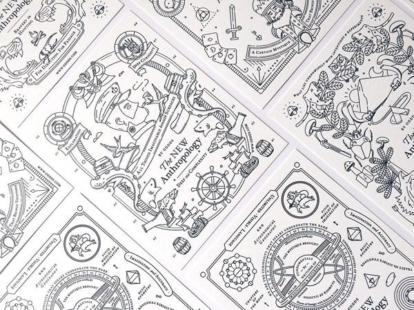 Brand illustrations.