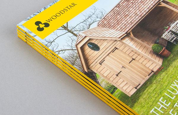 Catalog design by Skinn branding agency for Woodstar.