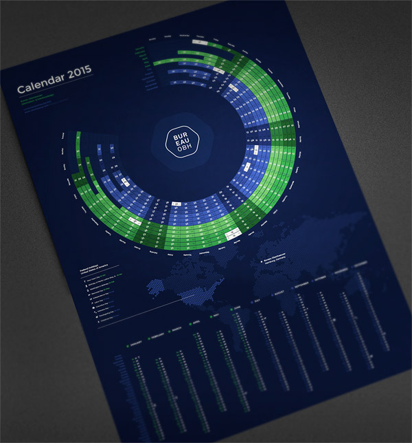 Calendar design by Martin Oberhäuser.