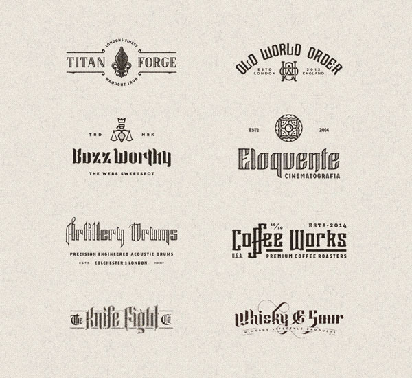 Custom typography and lettering design.
