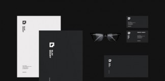 Glav Granit brand and stationery design by Alexander Laguta.