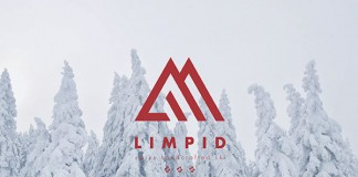 LIMPID SKIS Logo and Brand Identity.
