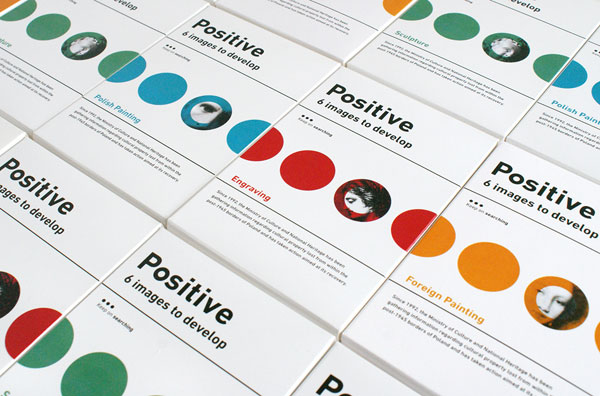 Positive, a project by graphic design studio ZUPAGRAFIKA.
