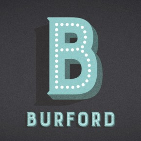 Burford - Vintage Inspired Layered Type Family from Kimmy Design