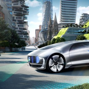 Mercedes Benz F 015 - Self-Driving Car Concept