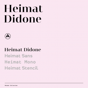 Heimat Didone - Serif Font Family from Atlas Font Foundry