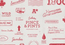Pince & Pints - Brand illustrations for a series of delivery and packaging icons.