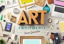 The Art Equipments Scene Generator.