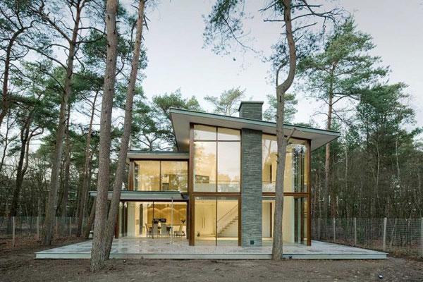 Villa Kerckebosch in Zeist, the Netherlands by Engel Architecten.