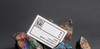 Business card design of the branding project by studio NECON for Sanrun Mining Co.