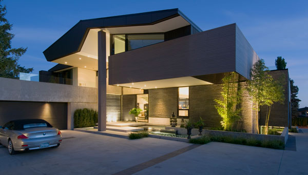 A contemporary single family home located in Vancouver, Canada.