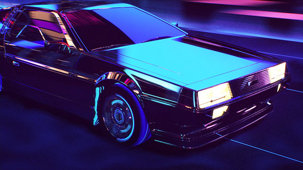 Retrowave – Short 80s Style Animation by Florian Renner