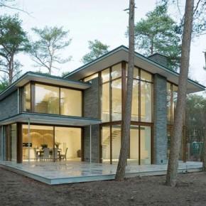 Villa Kerckebosch in Zeist, the Netherlands by Engel Architecten