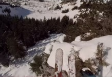 Backcountry by French skier Candide Thovex.