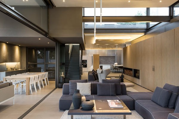The open living room area.