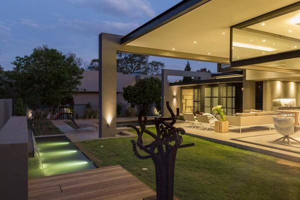 Modern architectural design.