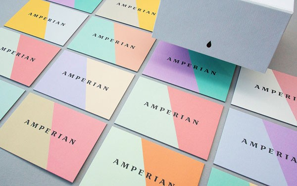Amperian - art direction, branding, and graphic design by BÜRO UFHO.