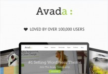 Avada WordPress theme, a responsive multi-purpose theme loved by over 100,000 users.