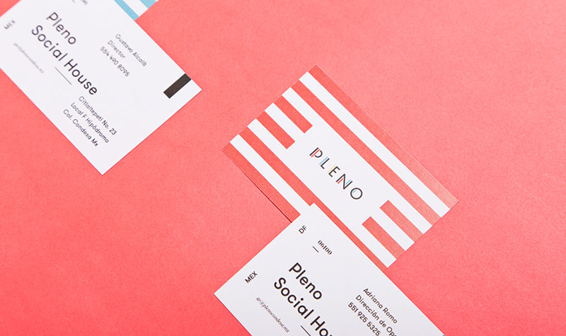 Business card design by Futura Mx.