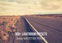 Download over 300 Lightroom presets from Shutter Pulse.