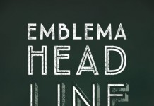 Emblema Headline from Corradine Fonts.