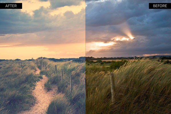 Faded colors - Polaroid or Instagram retro style.