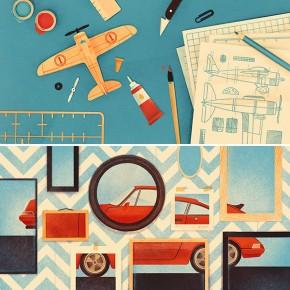 Freelance Illustrator Karolis Strautniekas - Work from 2014