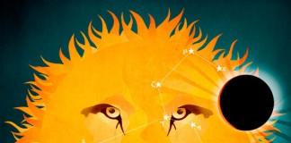 Leo - Horoscope artwork for The Telegraph Magazine.
