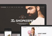 Shopkeeper - Responsive WordPress Theme.