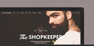 Shopkeeper - Responsive WordPress Theme.
