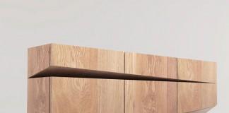 Sideboard design by Natalia Wieteska, an interior and furniture designer by Poznań, Poland.