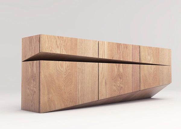 Sideboard concept by natalia wieteska for Sideboard danisches design