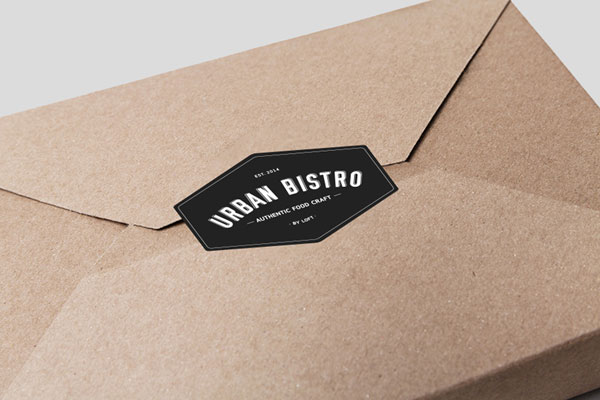 Simple and clean packaging.