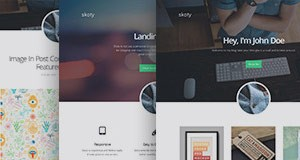 Skoty, a responsive multipurpose blogging theme.