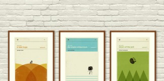 Star Wars inspired minimalist poster series.